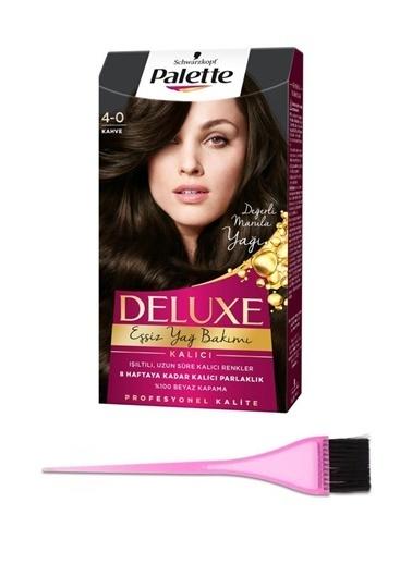 Palette Palette Deluxe 40 Kahve ve Boyama FırÇası Renksiz